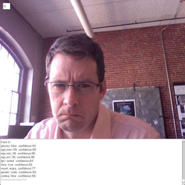 Testing OpenCV and Face.com api