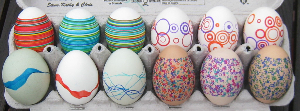 Eggbot Easter Eggs