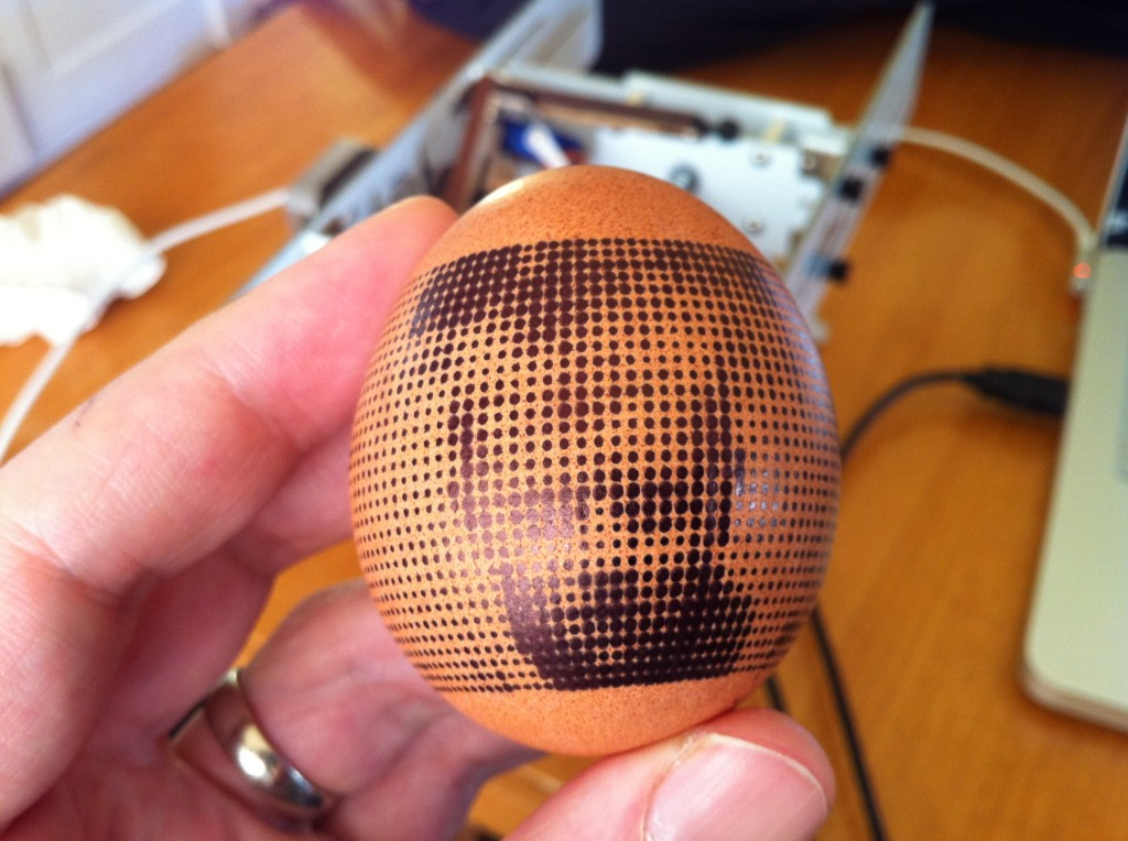 First attempt to control eggbot from Flash: halftone pictures 2