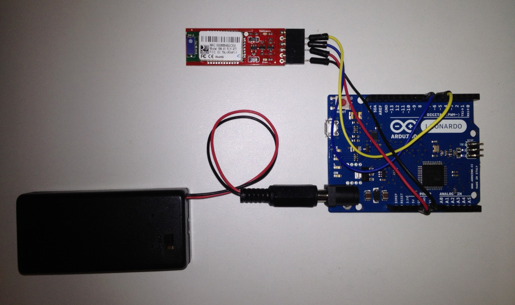 Arduino, Bluetooth and Flash